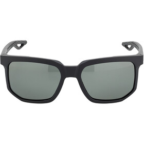 100% Centric Glasses soft tact black | grey peakpolar